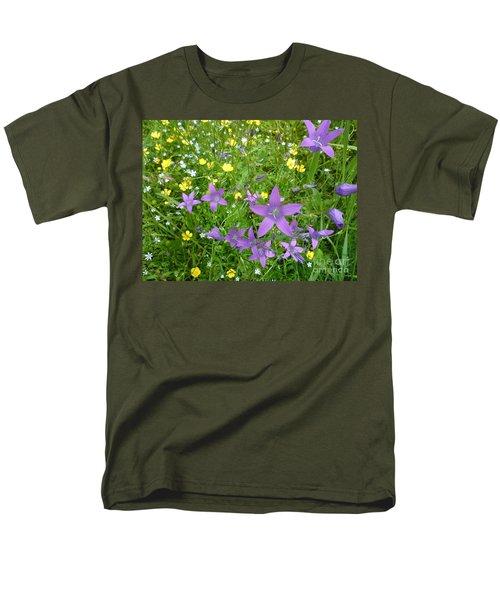 Wildflower Garden Men's T-Shirt  (Regular Fit) by Martin Howard