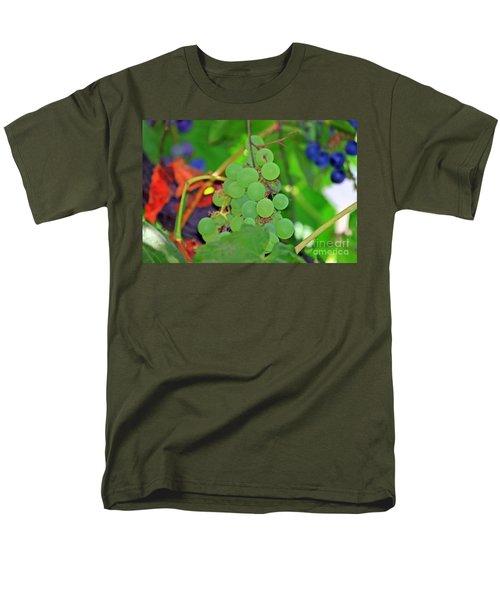Wine Beginnings Men's T-Shirt  (Regular Fit)