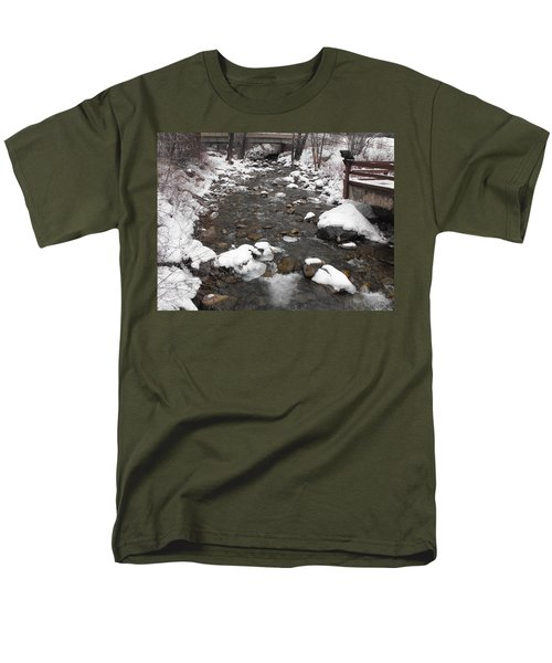 Winter Flow Men's T-Shirt  (Regular Fit) by Adam Cornelison