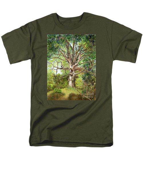 Wisdom Men's T-Shirt  (Regular Fit) by Nancy Cupp