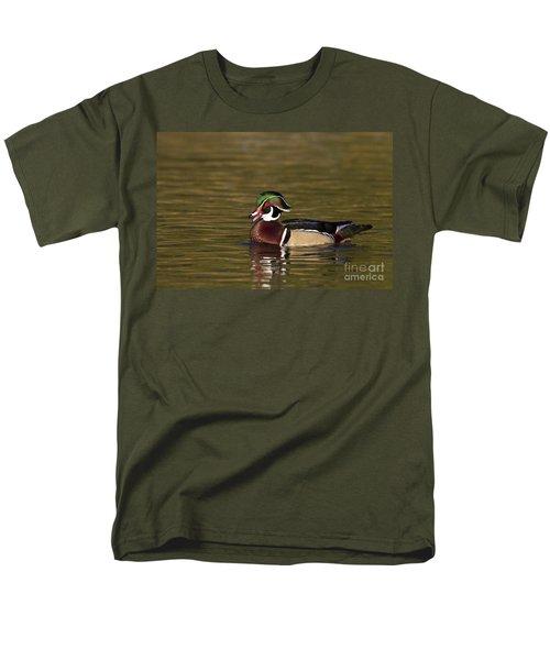 Wood Duck Calling Men's T-Shirt  (Regular Fit) by Bryan Keil