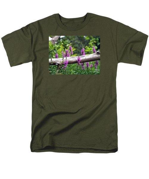 Woodland Treasures Men's T-Shirt  (Regular Fit) by Susan  Dimitrakopoulos