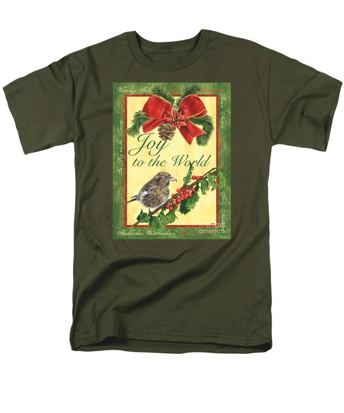 Xmas Around The World 2 Men's T-Shirt  (Regular Fit) by Debbie DeWitt