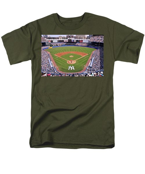 Yankee Stadium Men's T-Shirt  (Regular Fit) by Allen Beatty