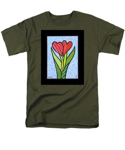 You And Me Men's T-Shirt  (Regular Fit) by Jim Harris