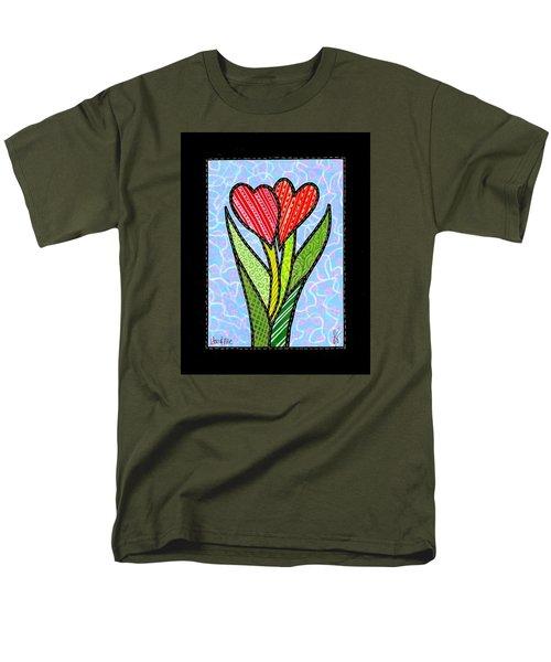 You And Me Men's T-Shirt  (Regular Fit)
