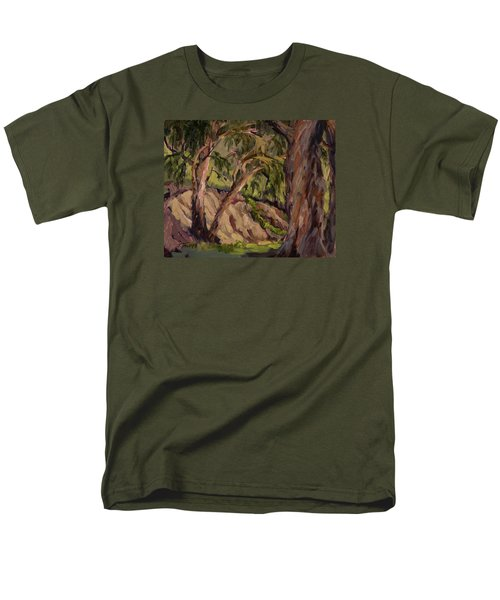 Young And Old Eucalyptus Men's T-Shirt  (Regular Fit) by Jane Thorpe