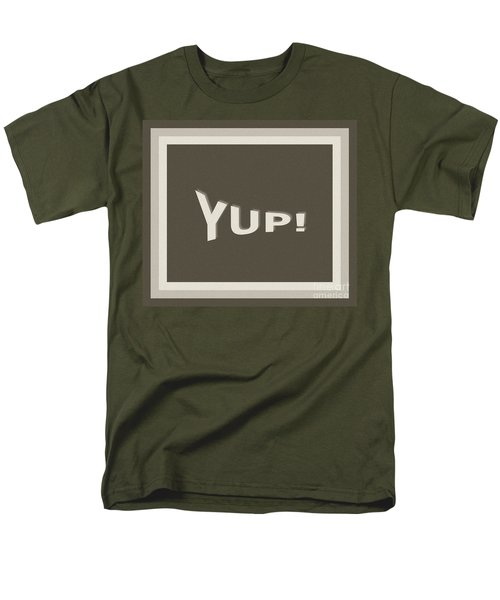 Men's T-Shirt  (Regular Fit) featuring the photograph Yup Greyscale by Joseph Baril