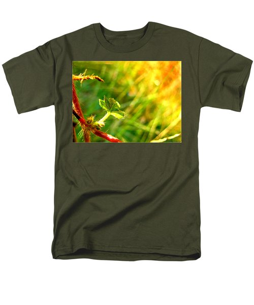 Men's T-Shirt  (Regular Fit) featuring the photograph A New Morning by Debbie Portwood