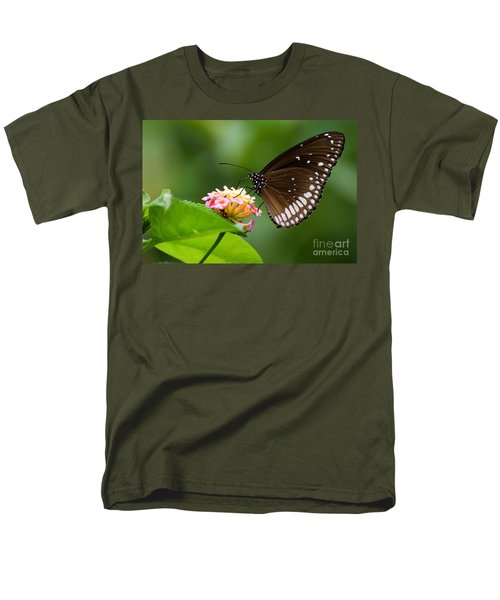 Men's T-Shirt  (Regular Fit) featuring the photograph Butterfly by Fotosas Photography