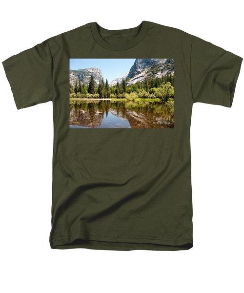 Yosemite Men's T-Shirt  (Regular Fit) by Carol Ailles