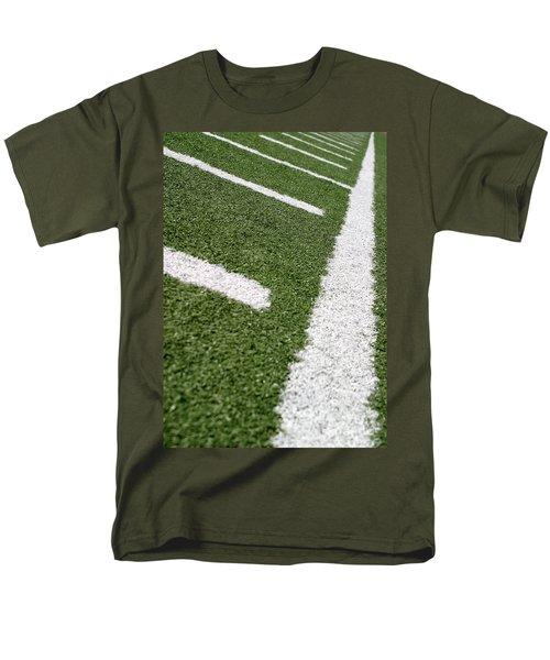 Men's T-Shirt  (Regular Fit) featuring the photograph Football Lines by Henrik Lehnerer