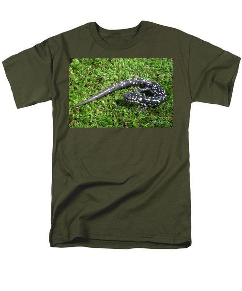 Slimy Salamander Men's T-Shirt  (Regular Fit) by Ted Kinsman
