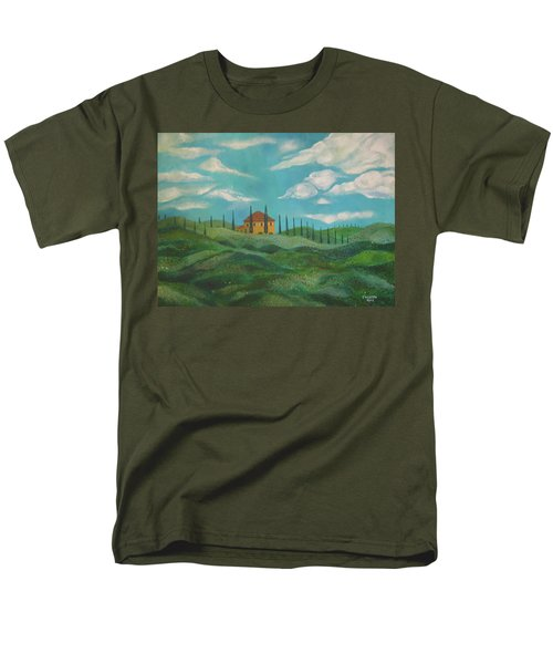 A Day In Tuscany Men's T-Shirt  (Regular Fit) by John Keaton