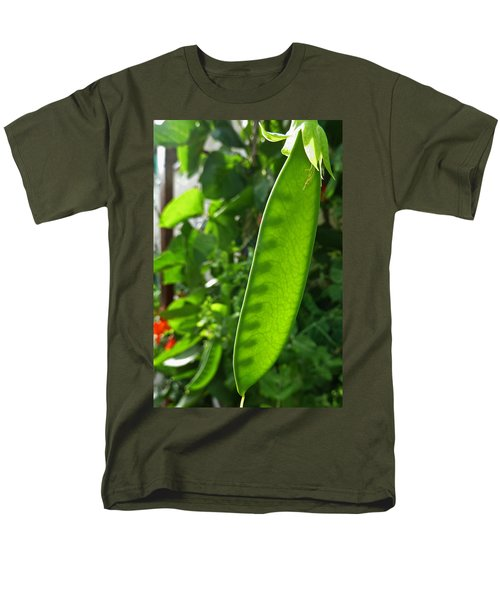 Men's T-Shirt  (Regular Fit) featuring the photograph A Green Womb by Steve Taylor