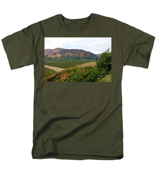 Men's T-Shirt  (Regular Fit) featuring the photograph A Photographer's Dream by Kathy  White