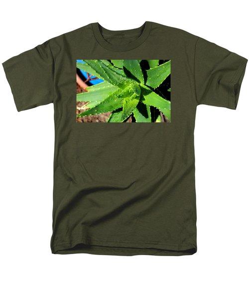 Men's T-Shirt  (Regular Fit) featuring the photograph Aloe by M Diane Bonaparte