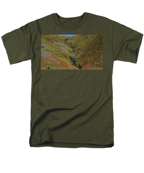 Annascaul Mountains Men's T-Shirt  (Regular Fit) by Barbara Walsh
