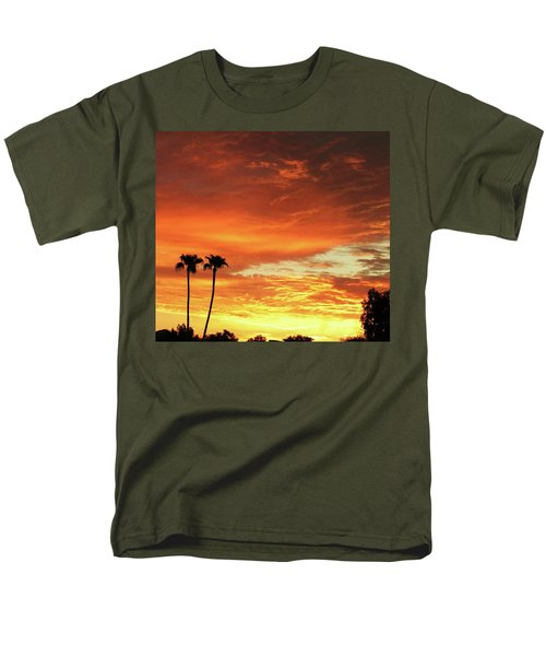 Arizona Sunrise 02 Men's T-Shirt  (Regular Fit) by Rand Swift