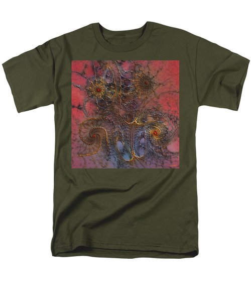 Men's T-Shirt  (Regular Fit) featuring the digital art At The Moment by Casey Kotas