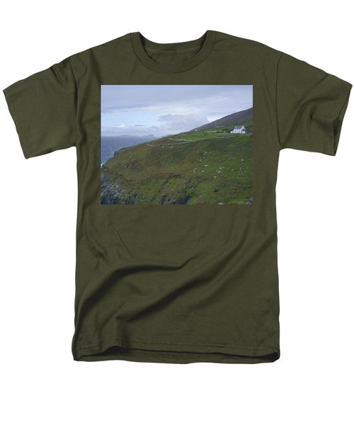 Men's T-Shirt  (Regular Fit) featuring the photograph Atlantic Coast Ireland by Hugh Smith