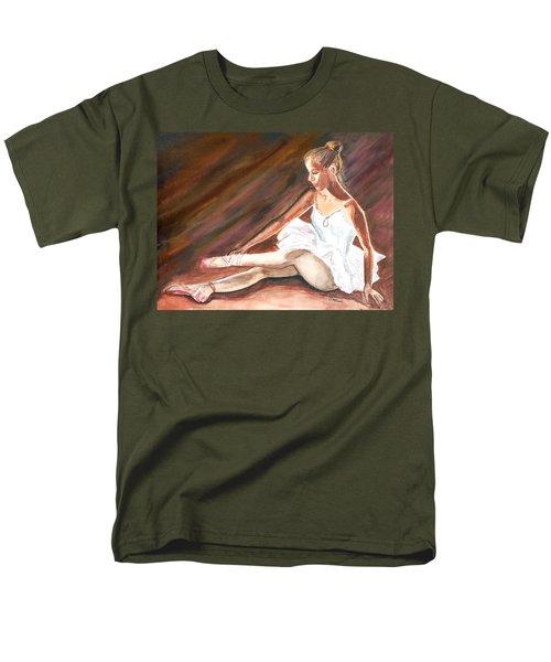 Men's T-Shirt  (Regular Fit) featuring the painting Ballet Dancer by Clara Sue Beym
