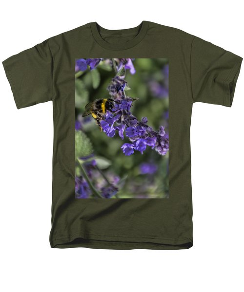 Men's T-Shirt  (Regular Fit) featuring the photograph Bee by David Gleeson