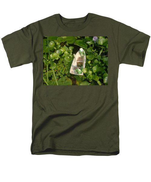 Men's T-Shirt  (Regular Fit) featuring the photograph Boating With Friends by Bonfire Photography
