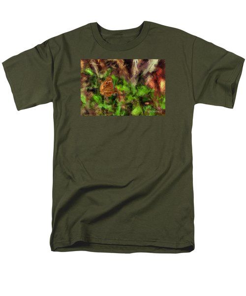 Men's T-Shirt  (Regular Fit) featuring the photograph Butterfly Camouflage by Dan Friend