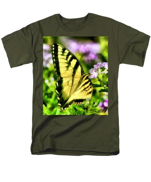 Butterfly Men's T-Shirt  (Regular Fit) by Lynne Jenkins