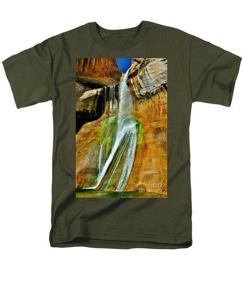 Calf Creek Falls II Men's T-Shirt  (Regular Fit) by Ellen Heaverlo