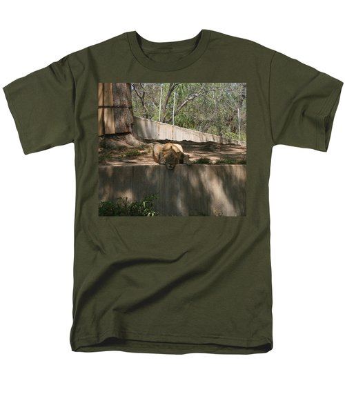 Men's T-Shirt  (Regular Fit) featuring the photograph Cat Nap by Stacy C Bottoms
