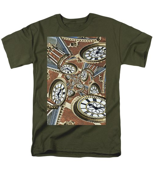 Clocked Men's T-Shirt  (Regular Fit) by Clare Bambers