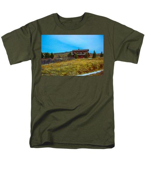 Men's T-Shirt  (Regular Fit) featuring the photograph Co. Farm by Shannon Harrington