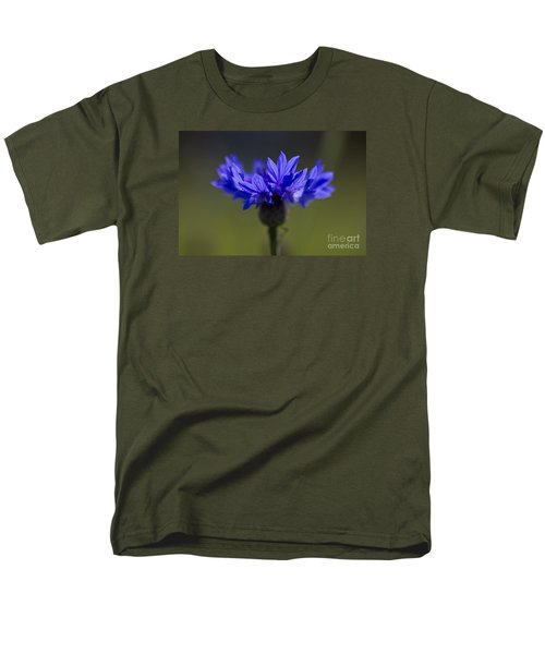 Men's T-Shirt  (Regular Fit) featuring the photograph Cornflower Blue by Clare Bambers