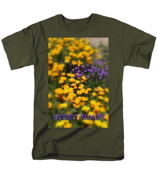 Men's T-Shirt  (Regular Fit) featuring the photograph Desert Beauty by Carla Parris