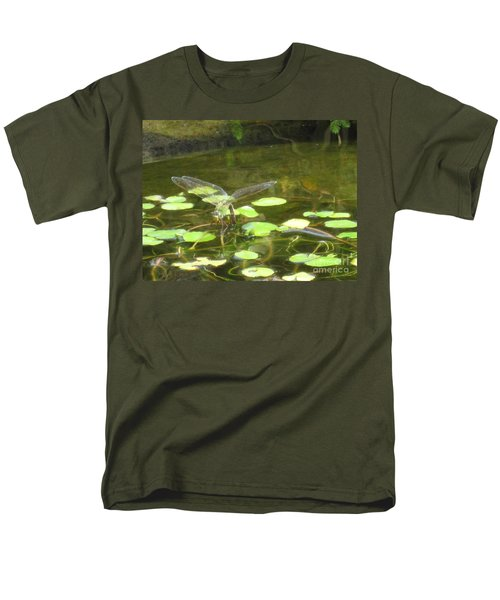 Dragonfly Men's T-Shirt  (Regular Fit) by Laurianna Taylor