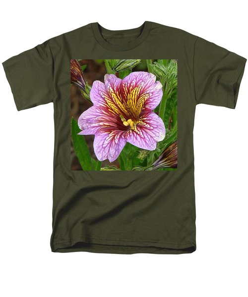 Men's T-Shirt  (Regular Fit) featuring the photograph Exploding Beauty by Wendy McKennon