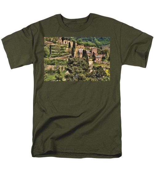 Farm Orvieto Italy Men's T-Shirt  (Regular Fit) by Hugh Smith