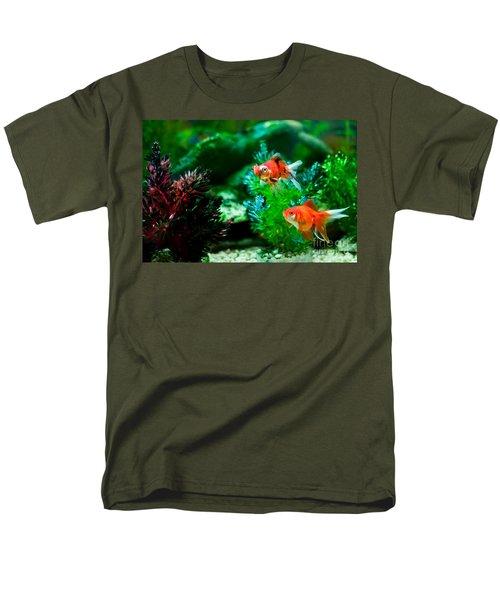 Men's T-Shirt  (Regular Fit) featuring the photograph Fish Tank by Matt Malloy