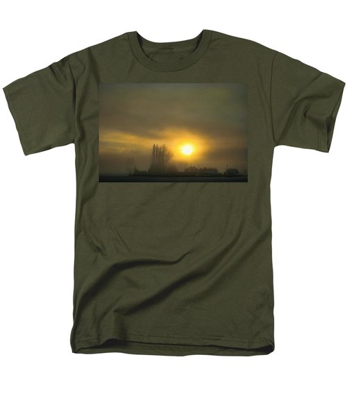 Foggy Sunrise Men's T-Shirt  (Regular Fit)