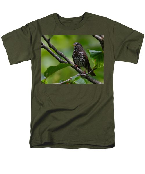 Fox Sparrow Men's T-Shirt  (Regular Fit) by Doug Lloyd