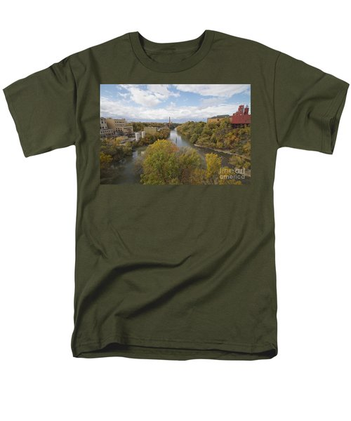 Men's T-Shirt  (Regular Fit) featuring the photograph Genesee River by William Norton