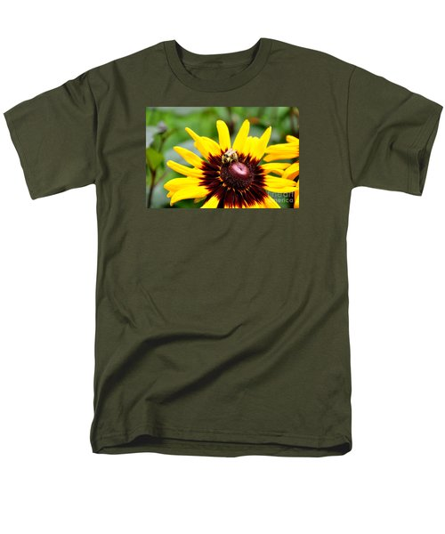 Men's T-Shirt  (Regular Fit) featuring the photograph Happy Rudbeckia by Tanya  Searcy
