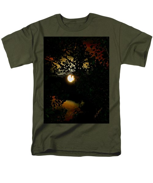Men's T-Shirt  (Regular Fit) featuring the photograph Haunting Moon IIi by Jeanette C Landstrom
