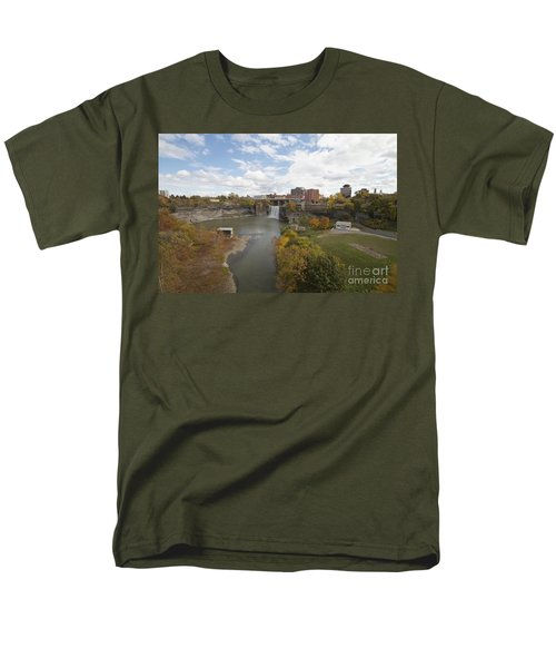 Men's T-Shirt  (Regular Fit) featuring the photograph High Falls by William Norton