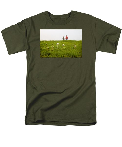 Men's T-Shirt  (Regular Fit) featuring the photograph In The Mist by Milena Ilieva