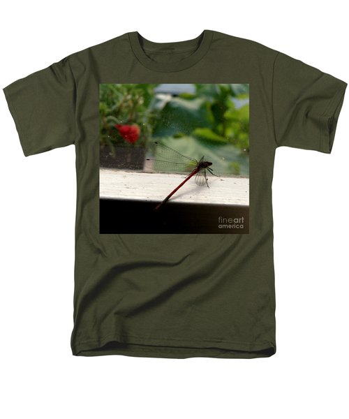 It's Always Greener Men's T-Shirt  (Regular Fit) by Lainie Wrightson