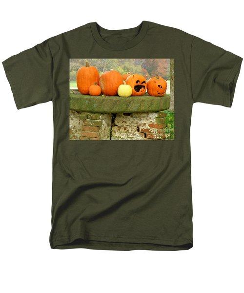 Jack-0-lanterns Men's T-Shirt  (Regular Fit) by Lainie Wrightson
