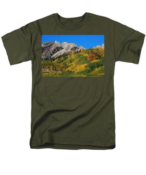 Men's T-Shirt  (Regular Fit) featuring the photograph Kebler Pass by Jim Garrison